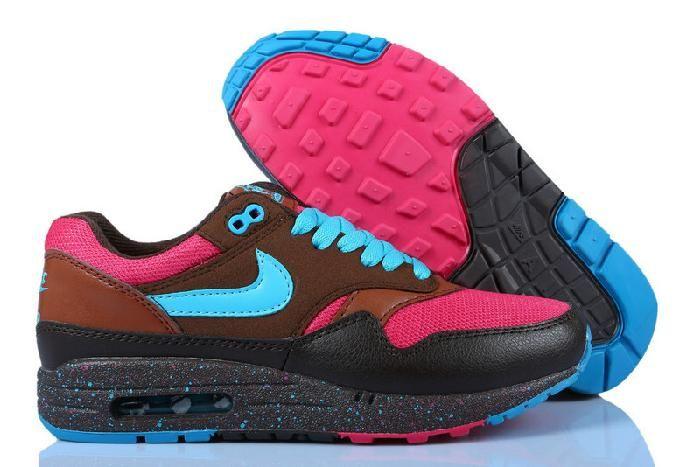 Nike Air Max 1 Rood-Bruin-Online Sport Schoenen Verkoopprijs:\u20ac46,