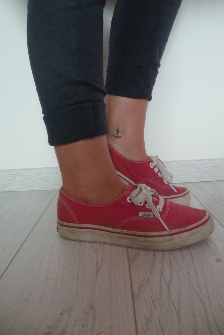 Ancre vans cheville tatoo pinterest camionnette - Petit tatouage significatif ...