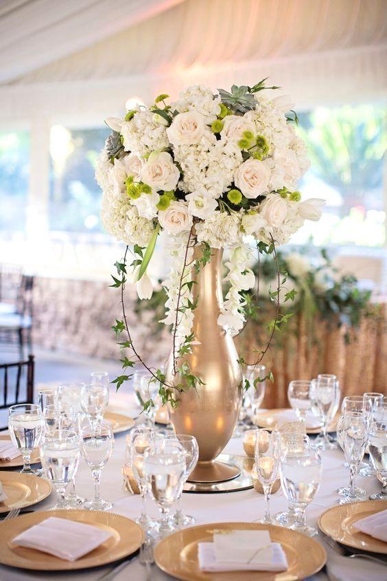 34 Elegant Wedding Reception Flower Ideas On The Cheap Wedding