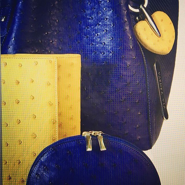 #ostrich #accessories of the day from #vialamodashowroom