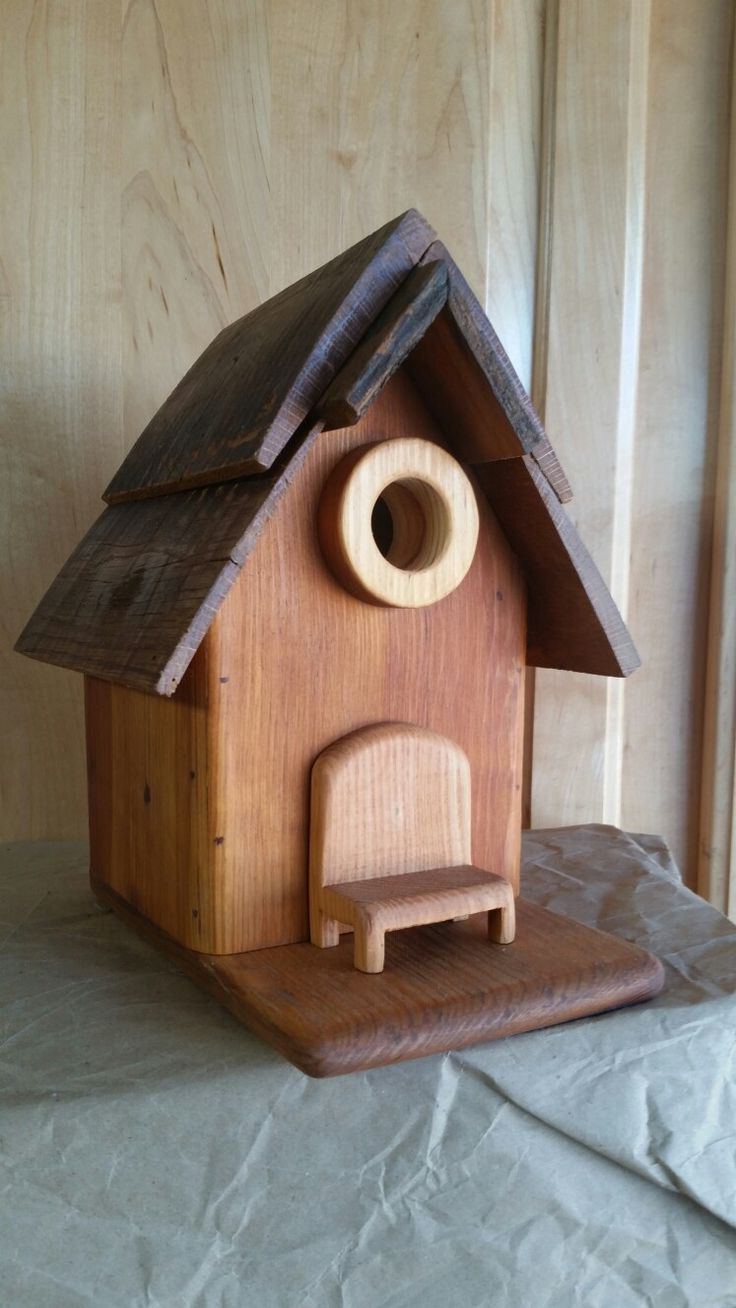 Cedar cottage birdhouse