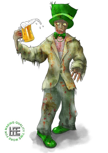 Irish zombie or someone on March 18th!!