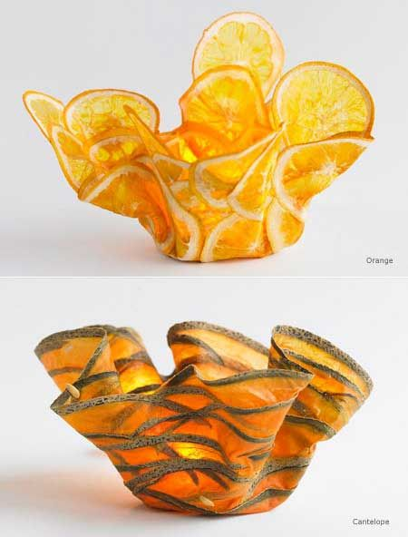 food or art? more on http://www.margaretdorfman.com/margaret-dorfman-galleries/vegetable-parchment-bowls/index.htm