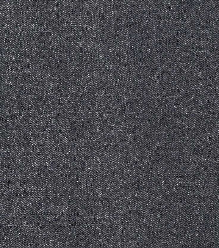 Eaton Square Solid Fabric-Habanera/Black Silver