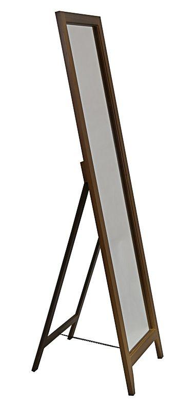 Напольное зеркало деревянное
