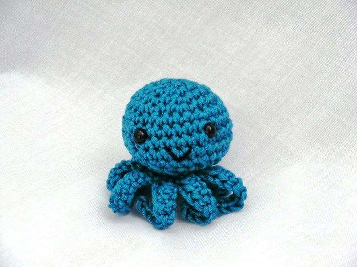Mini amigurumi octopus PDF crochet pattern by AmigurumiBarmy on Etsy https://www.etsy.com/listing/150322332/mini-amigurumi-octopus-pdf-crochet