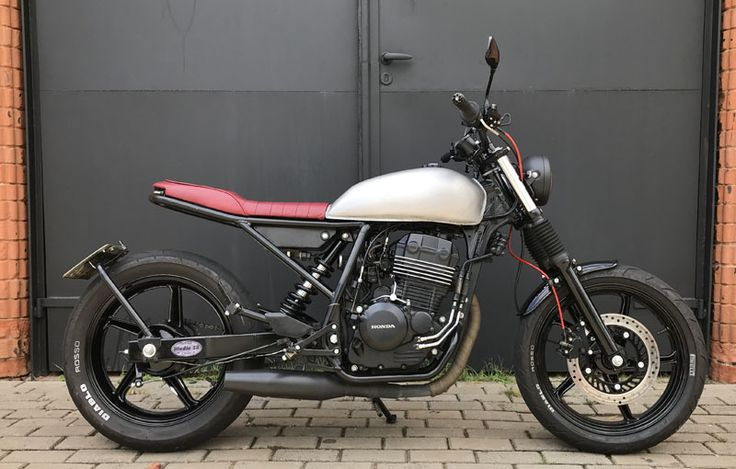 Honda CBX250 Scrambler Street Tracker Studio 58 Cycles – MOTOCULTURA