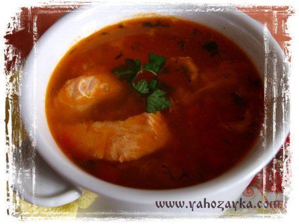 Уха из карпа по венгерски. Венгерский рыбный суп халасле