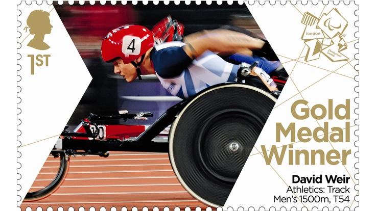 David Weir's second gold stamp