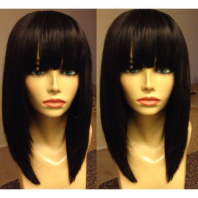 Astounding 1000 Ideas About Chinese Bangs On Pinterest Hair Wigs And Full Short Hairstyles Gunalazisus