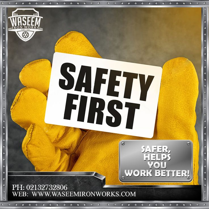 Safety, Enhances the efficiency. As by eliminating the fear all your concentration will be on work.  Phone: 02132732806 Mobile: 03213874707 Fax: 02132726624  Email: contact@waseemironworks.com Web: www.waseemironworks.com  #WaseemIronWoks #engeneeringServices #MsIron #MsSteel #Galvanized #Aluminium #Welding #Fabrications #DecorativeIronWork #BespokeIronWork #GatesandRailings #LogBurners #ArchitecturalFixings #IndustrialWorks