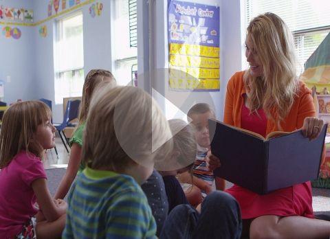 A digital classroom publishing studio for students.
