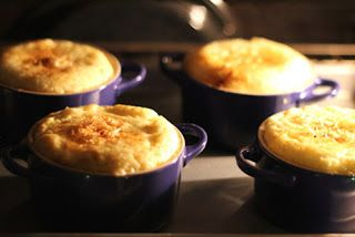 "Cookistry: ""Made with Love"" Dinner Party- Cheese Grits Souffle"