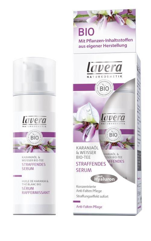 LAVERA Intenzivní liftingové sérum Bílý čaj a Karanja olej - řada FACES MY AGE