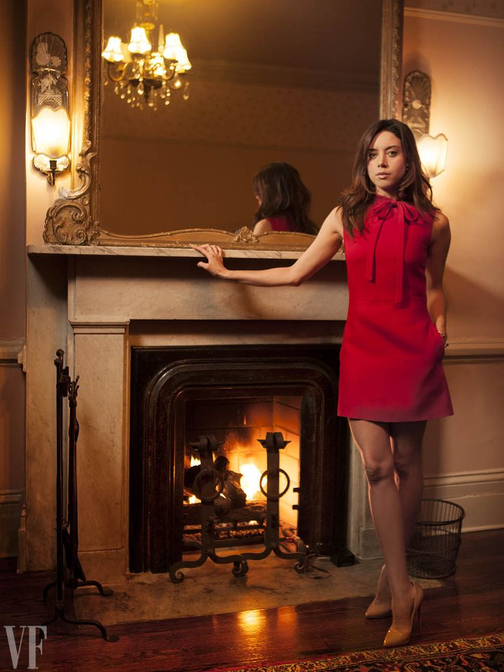 Aubrey Plaza for Vanity Fair X Tribeca Film Festival