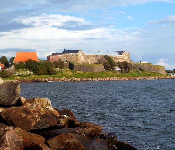 Varberg Fortress in Varberg Sweden