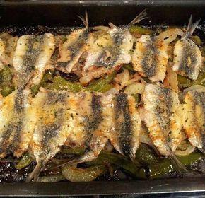Sardinas Asadas receta casera