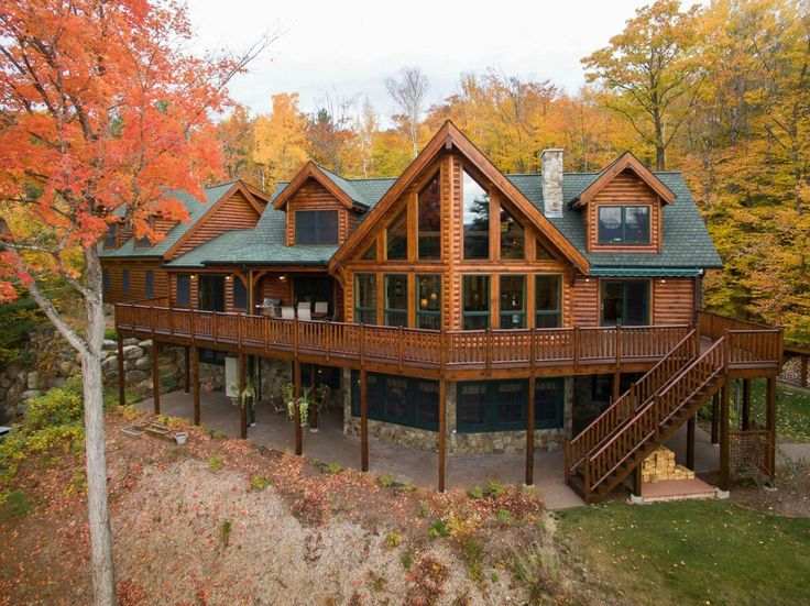 17 Best Images About Log Homes On Pinterest Luxury Log