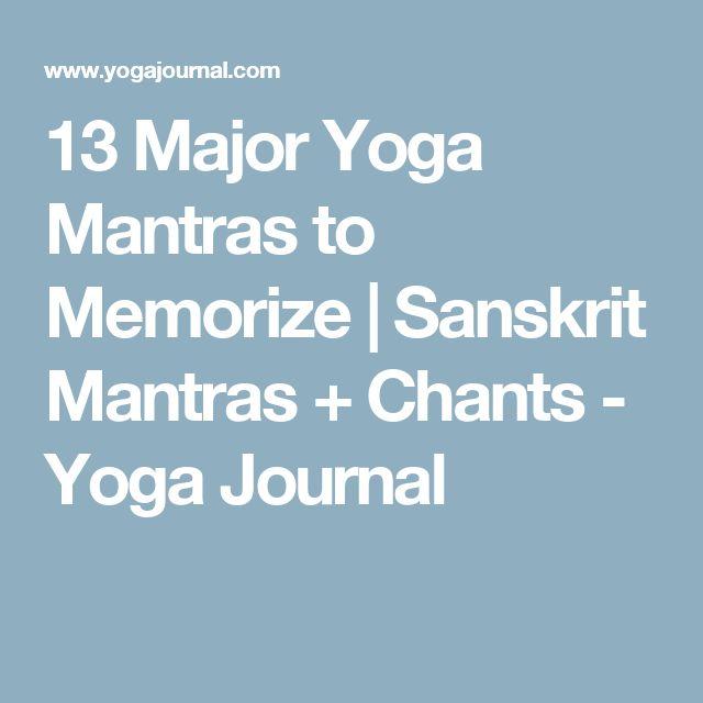 Yoga Matras: Best 25+ Yoga Mantras Ideas On Pinterest