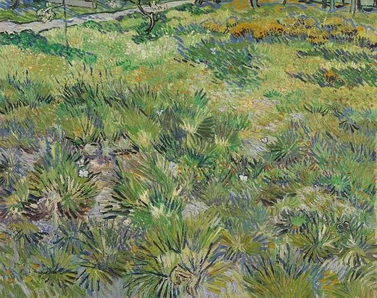 Винсент ван Гог - Высокая трава с бабочками. Часть 6 Национальная галерея. Описание картины, скачать репродукцию.
