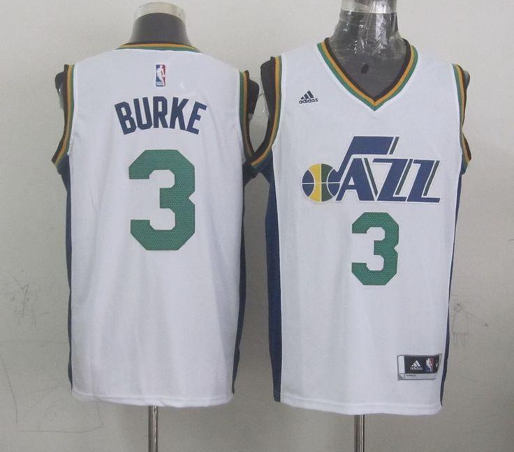 Trey burke jersey Trey Burke Utah Jazz White 2014-15 New Swingman Home  Jersey ... a2a6b6459