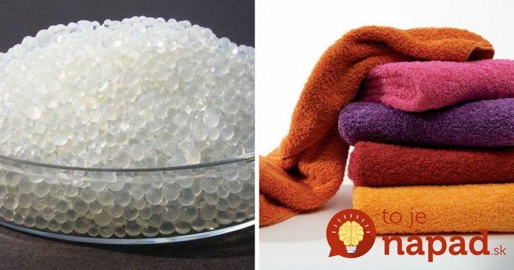 Túto surovinu máte doma pravdepodobne aj vy: Tušili ste, čo dokáže s vašimi uterákmi?
