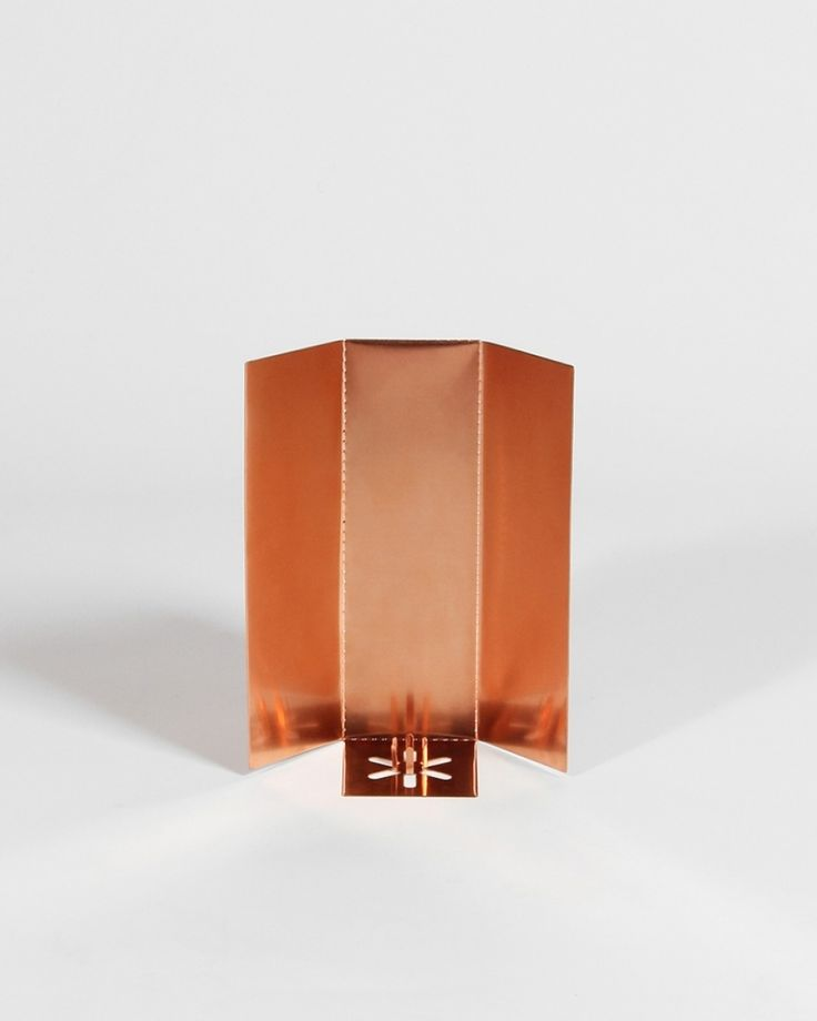 Copper Candle Holder | Candle Holder | Jennifer Chan | Candle | Irish Design | Shop | Design and Craft | Gifts | Makers&Brothers |