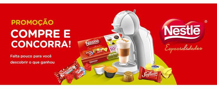 Concorra a máquinas de café, vale compras Dolce Gusto e receba descontos incríveis. Veja como participar: www.ofertasnaweb.com
