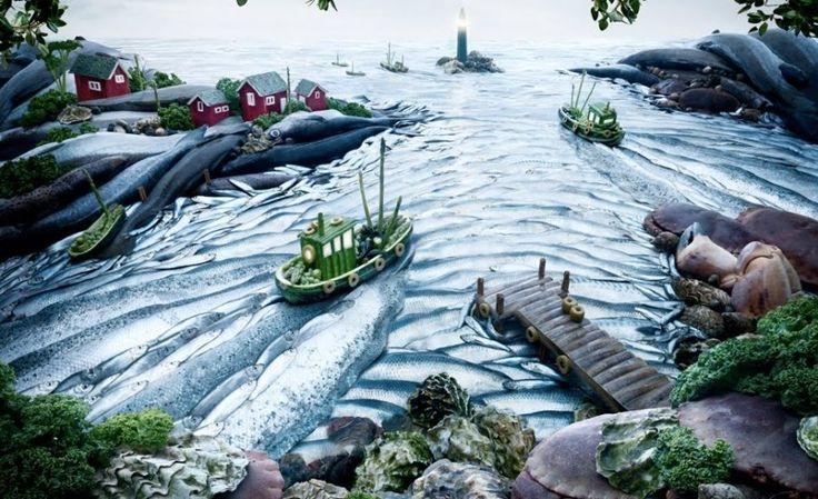 Съедобные картины Карла Уорнера - Путешествуем вместе
