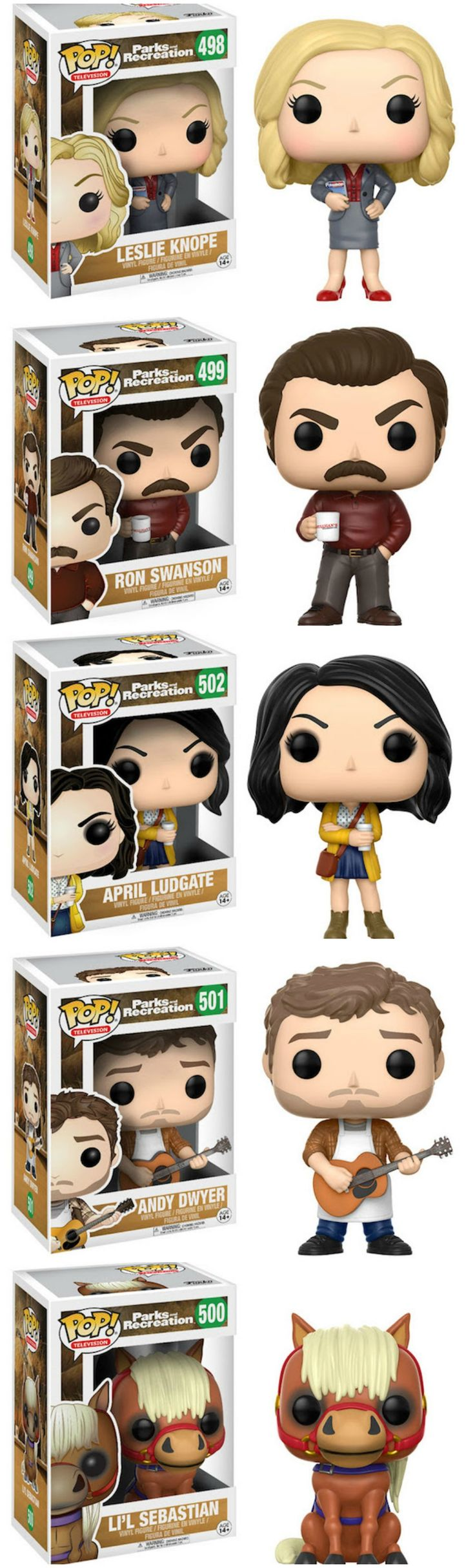 Treat Yo' Self To 'Parks And Rec' Funko Pop Figures