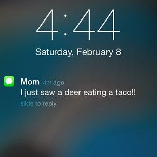 The most important thing your mom could ever send you:   28 Texts From 2014 That Will Make You Laugh Every Time