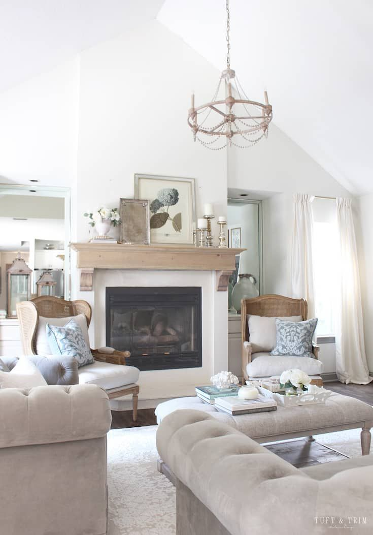 Modern French Country Decor Home Tour French Country Living Room Modern French Country French Country Furniture