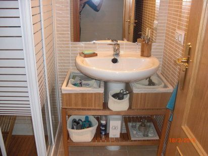 M s de 25 ideas incre bles sobre peque os lavabos en - Muebles lavabo ikea ...
