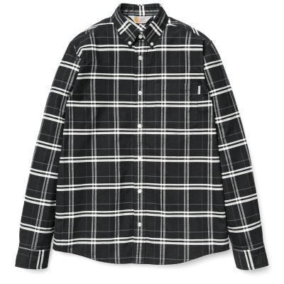 Carhartt - L/S Douglas Shirt Black Check