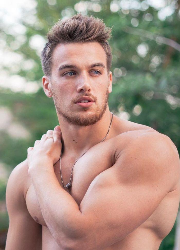 Hot european guy