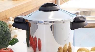 Snelkoken | Korte kooktijden en met behoud van aroma, mineralen en vitaminen.