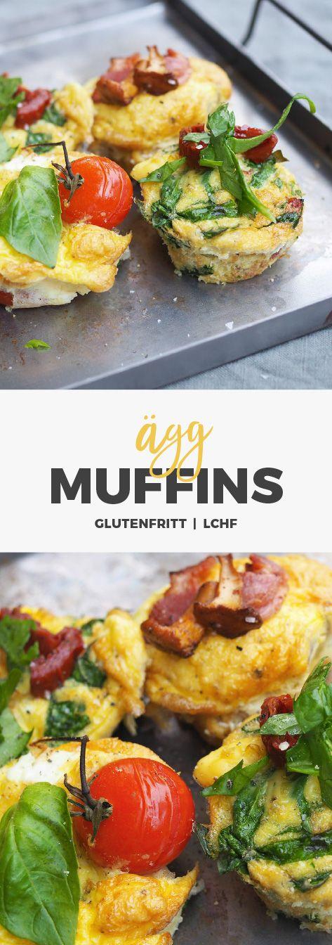 Recept: Matiga äggmuffins. LCHF / Paleo /glutenfritt / Mjölkfritt