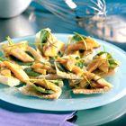 Een heerlijk recept: Pitapuntjes met gerookte paling