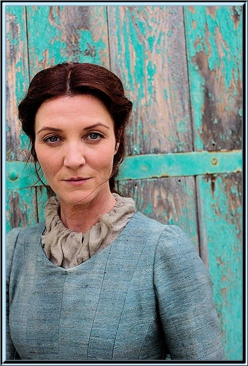 Catelyn Tully Stark   why she have to die, great actor. kept things in check. guess that why she had to die. hell answered my own question