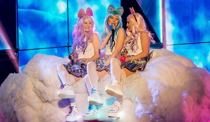 Dolly Style i Melodifestivalen.