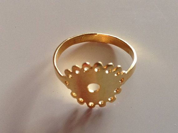Lace Band ring Thoughts from my grandma by PlusLoveStudio on Etsy - 29.90euro