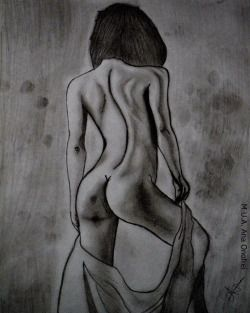 #pic #picture #drawing #pencil #pencildrawing #girl #nudegirl #nude #byme #art #pencilart #naked #nakedgirl #hair