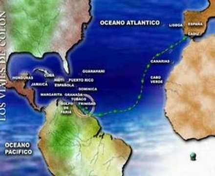 Los viajes de Colón : video de ArteHistoria http://www.artehistoria.jcyl.es/v2/videos/92.htm