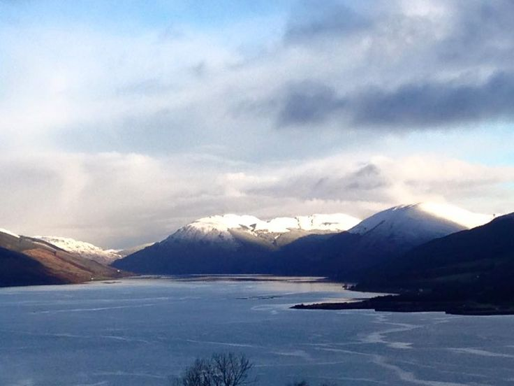 Wintry view from Bute on 18th November 2016.  Photo by Raymond Lench.