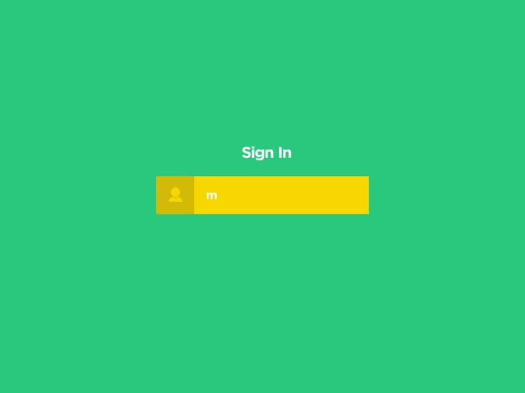 Minimal design login concept. 100% photoshop as always.   Check color.gif to see other color option.