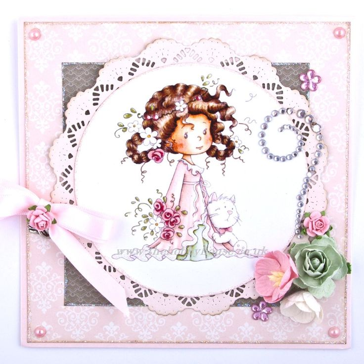 The Hobby House Wee Stamps - Spring Bringer