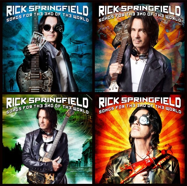 Rick Springfield: Songs for the End of the World (available Oct. 9th)