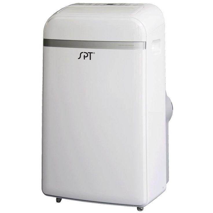 SPT 14,000 BTU Portable Air Conditioner With Heat, White