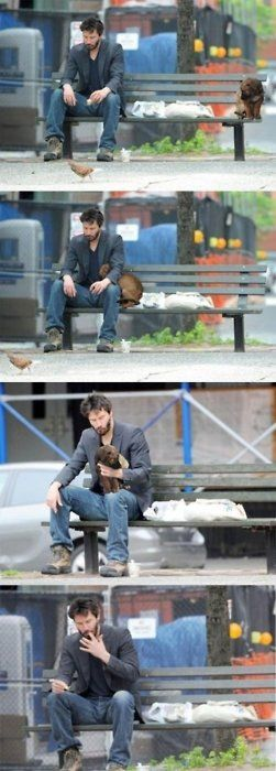 This is the actual source of the sad Keanu meme that had been classified and censored to hide the fact that his immortality is sustained by the consumption of live puppies