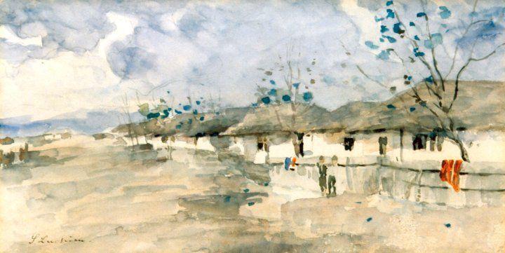 Ştefan Luchian -Dupa ploaie la Baneasa